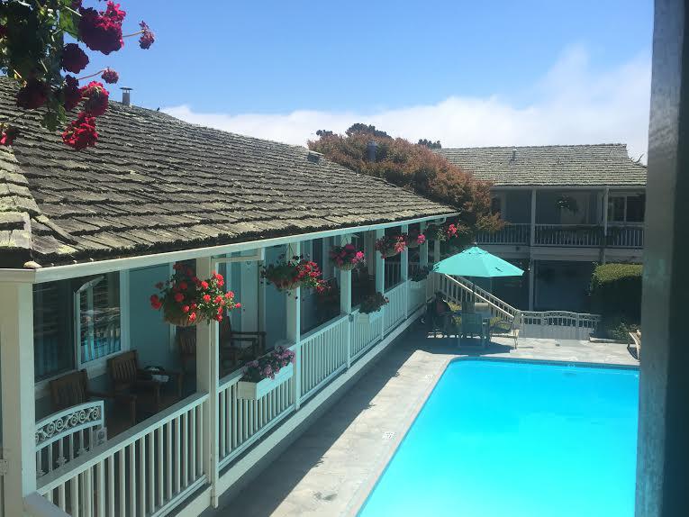Carmel Bay View Inn Pool