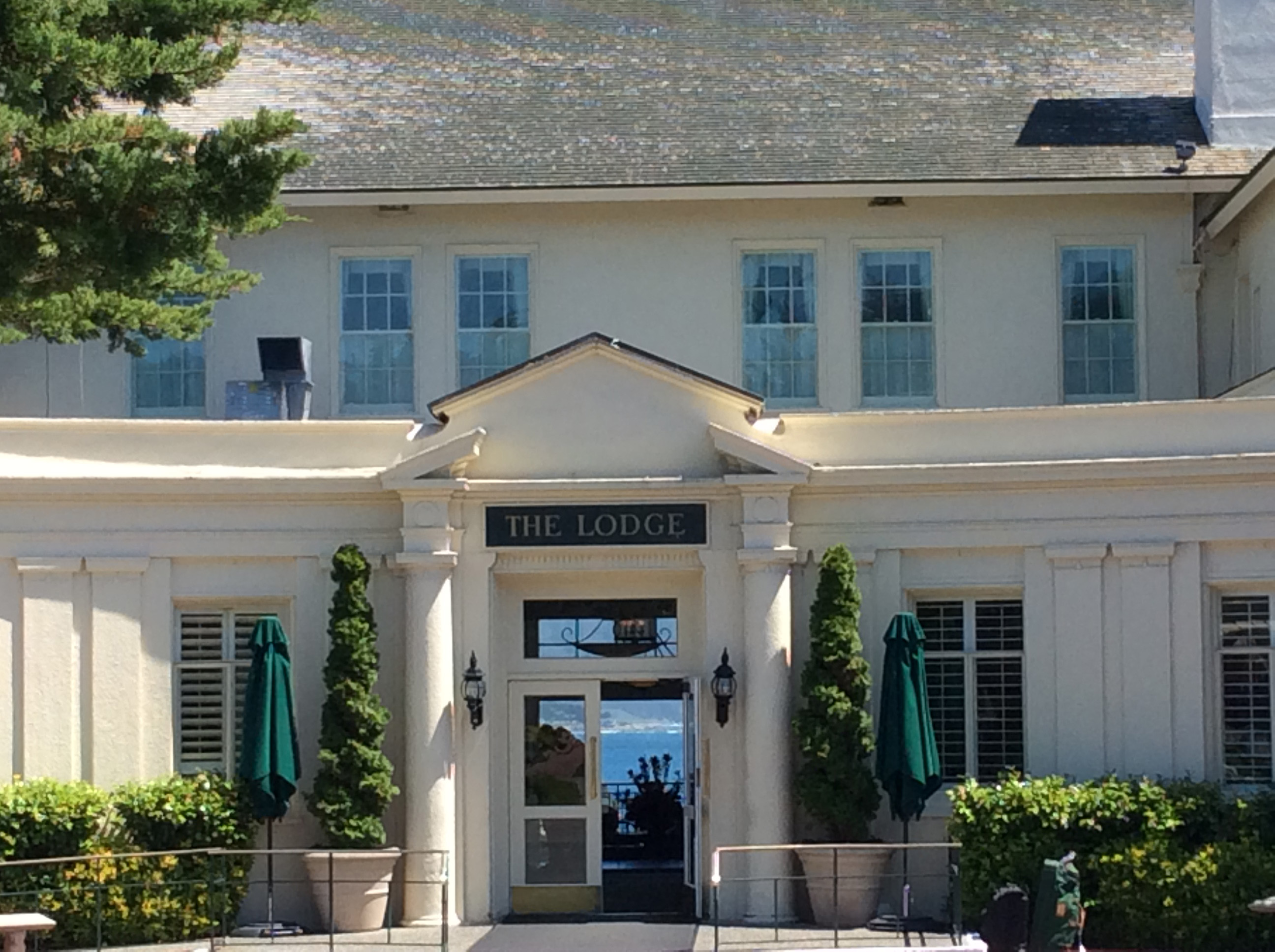 The Lodge at Pebble Beach Exclusive Hotel and Golf Links on Stillwater Cove in Pebble Beach, Ca